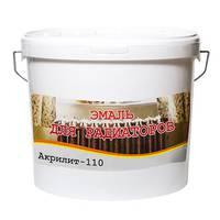 Эмаль Акрилит-110 для радиаторов и приборов отопления, белая